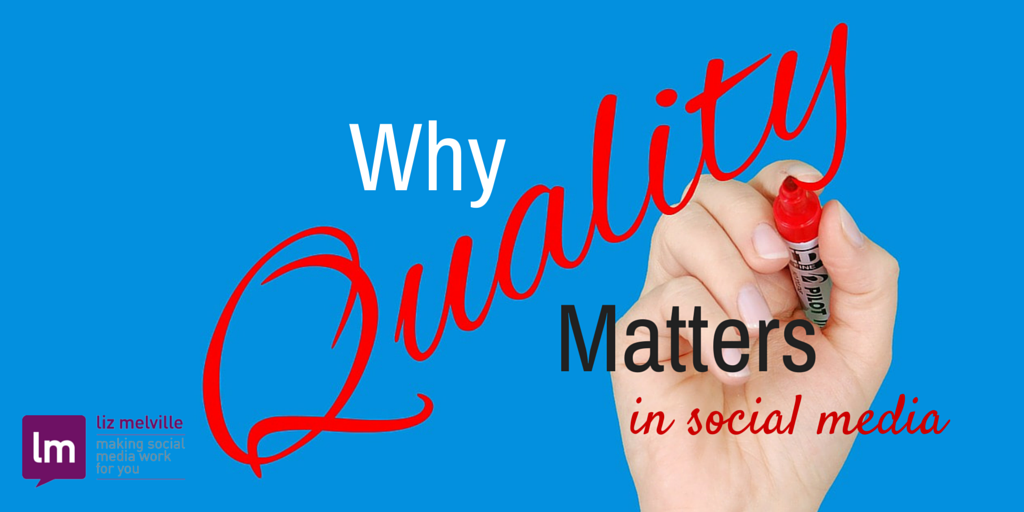 Why Quality Matters More Than Quantity in Social Media